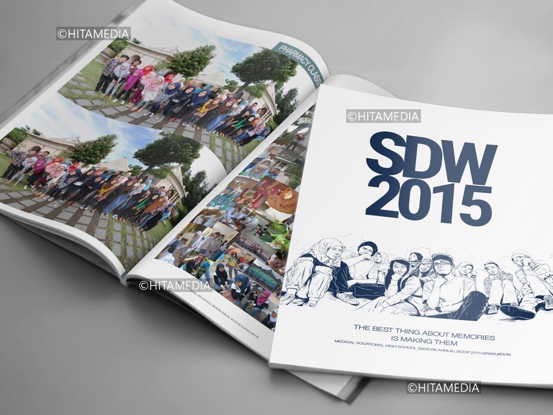 portofolio Vendor Buku Tahunan Sekolah