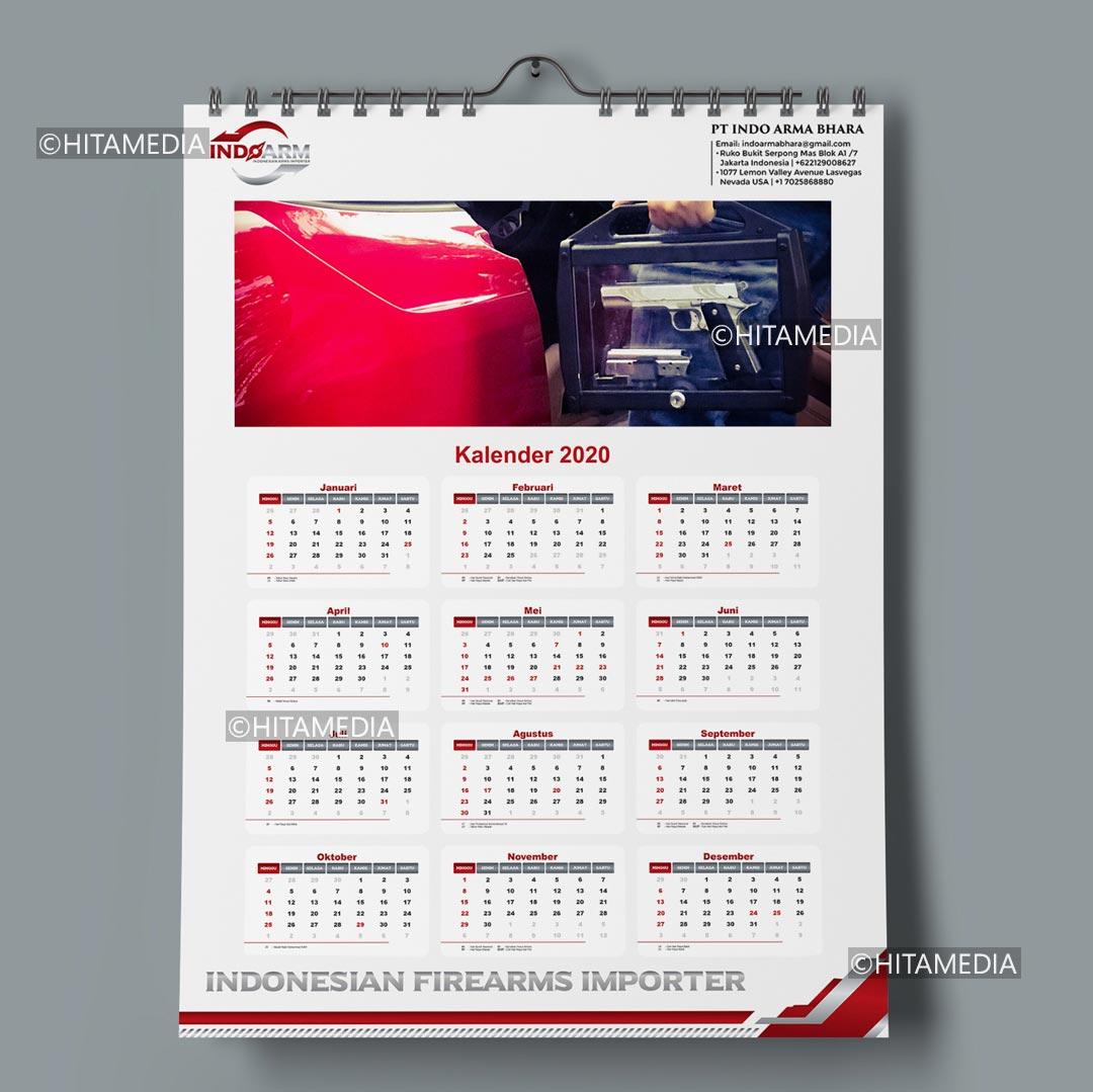 portofolio Bikin Kalender Foto Sendiri