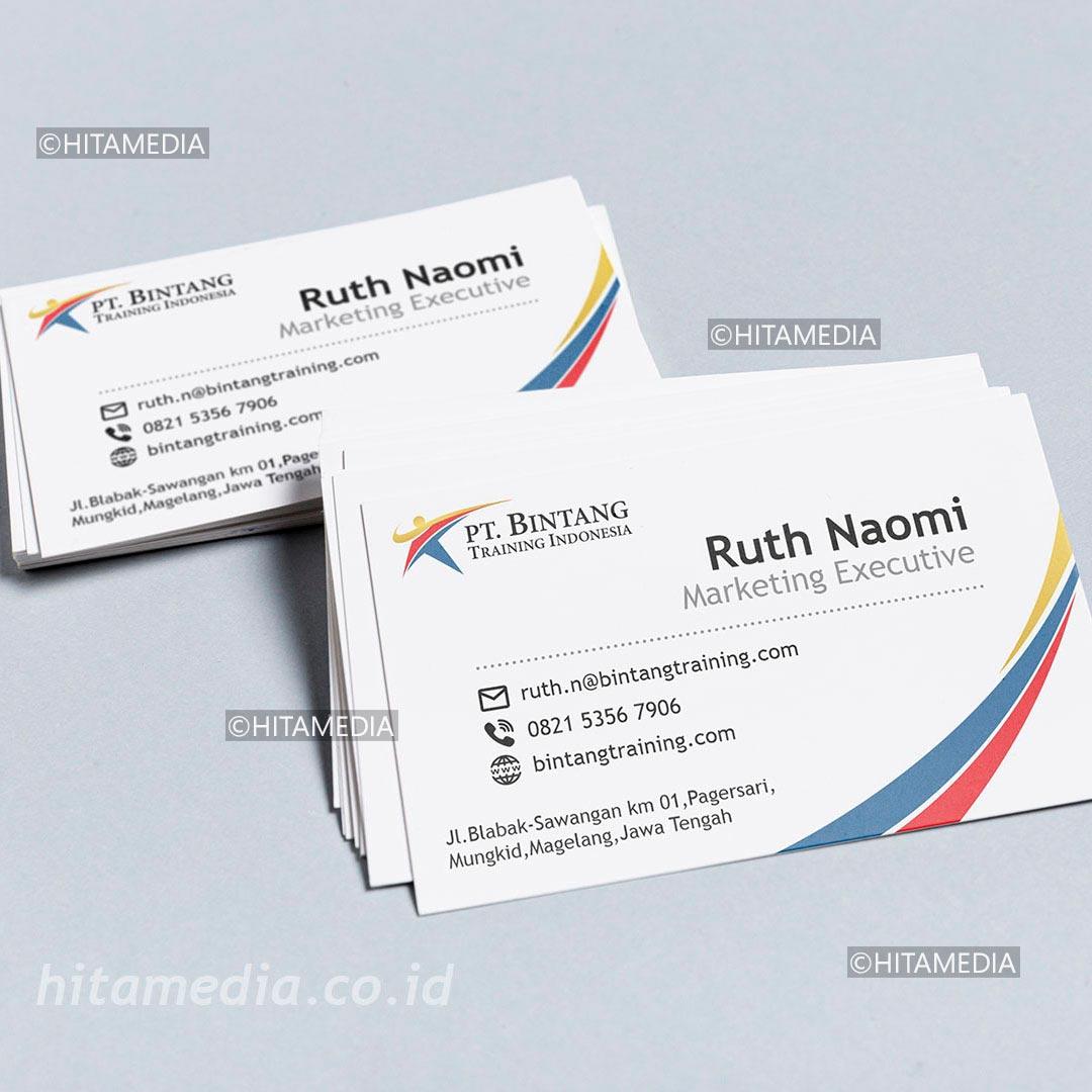 portofolio Cetak Kartu Nama Kilat