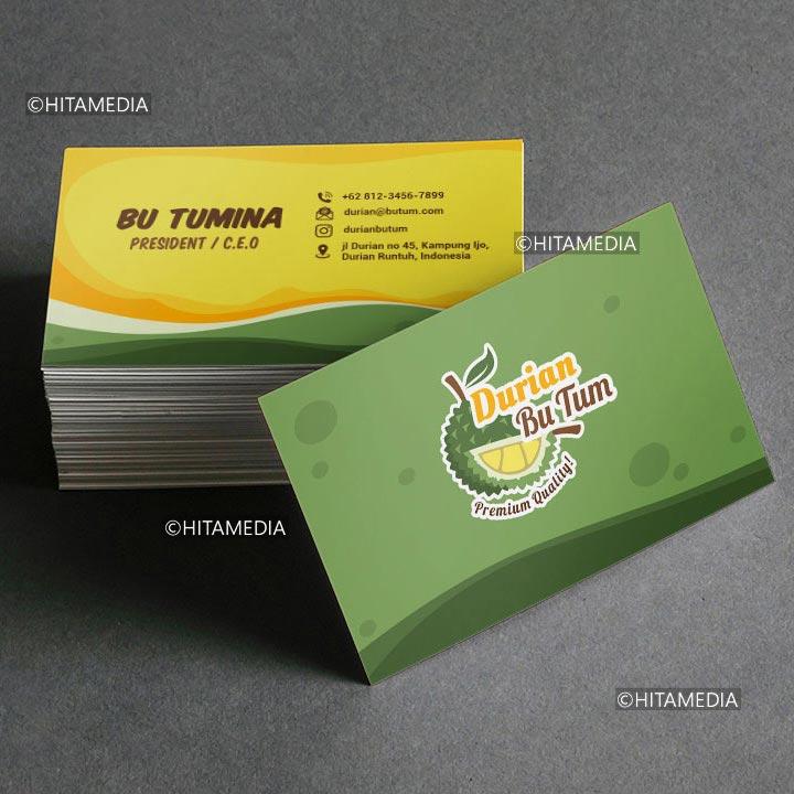 portofolio Cetak Kartu Nama Palembang