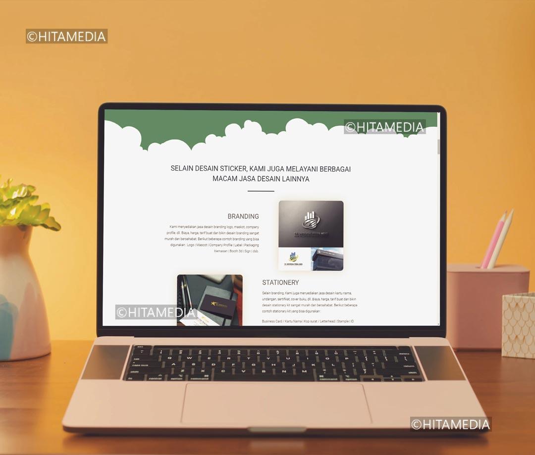 portofolio Biaya Desain Web
